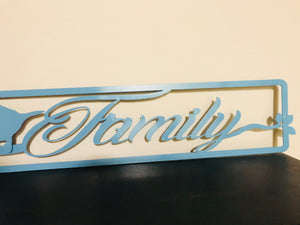 Family Bird Sign- Family of 5