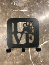 Love Paw Leash Holder 5x5 inches