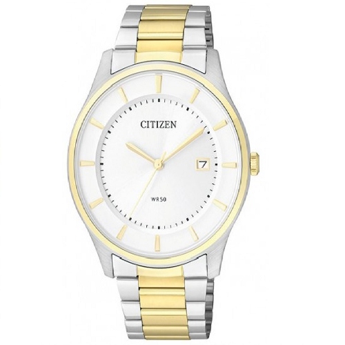 White Dial Citizen Analog Men's Watch