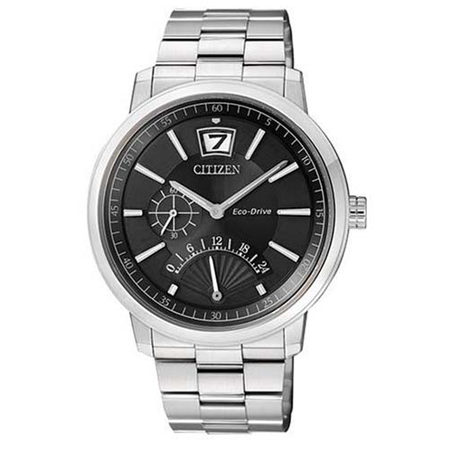 Eco-Drive Black Dial Citizen Men's Watch