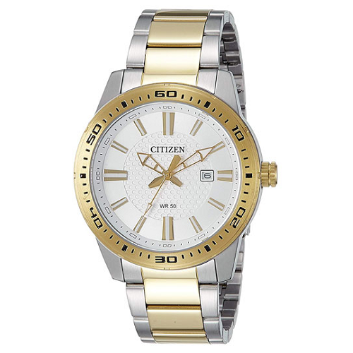 Citizen Analog White Dial Men's Watch