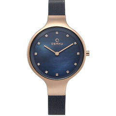 Obaku Sky Ocean Blue Dial Ladies Watch