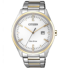 White Dial Citizen Men's Watch-BM7354-85A
