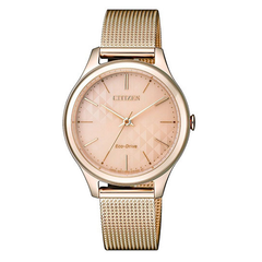 Rose Gold Dial Citizen Women's Watch
