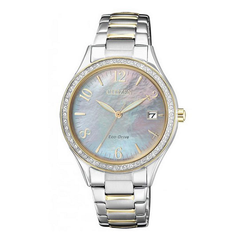 Citizen Women's Watch With Mineral Glass Dial Window Material