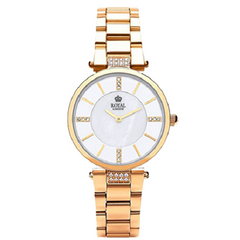 Royal London Ladies Dress Rose Band Color Watch