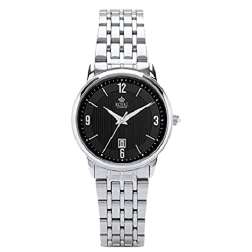 Royal London Ladies Classic Stainless Steel Date Watch