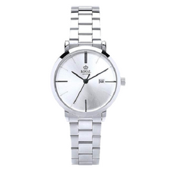 Royal London Women's Steel Case Mineral Glass Waterproof Watch
