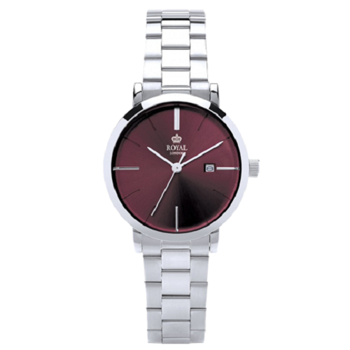 Royal London Stainless Steel Ladies Modern Color Wrist Watch