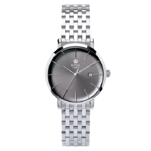 Royal London Analog Classic Grey Dial Ladies Watch