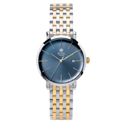 Royal London Ladies Stainless Steel Blue Dial Watch
