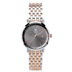 Royal London Two Tone Ladies Pair Classic Grey Dial Watch