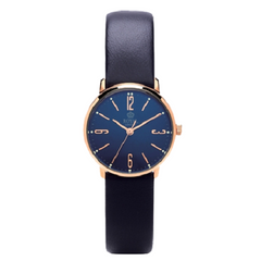 Royal London Ladies Blue Leather Classic Wrist Watch