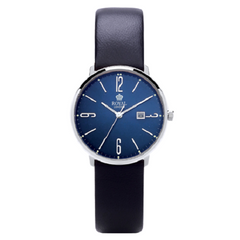 Royal London Fashion Ladies Blue Leather Strap Watch
