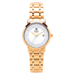 Royal London Classic Gold Ladies Stainless Steel Bracelet Watch