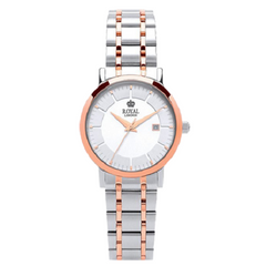 Royal London Ladies Two Tone Stainless Steel Wrist Watch