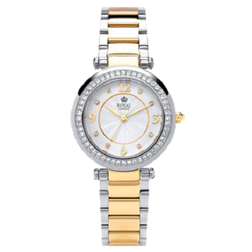 Royal London Ladies Stainless Steel Gold Silver Two Tone Watch