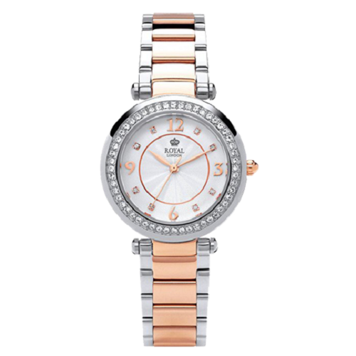 Royal London Ladies Waterproof Rose Gold Watch