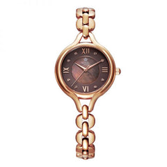 Royal London Brown Dial Round Shape Women's Wrist Watch