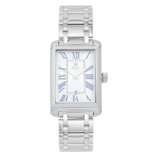 Royal London Ladies Stainless Steel Silver Dial Watch