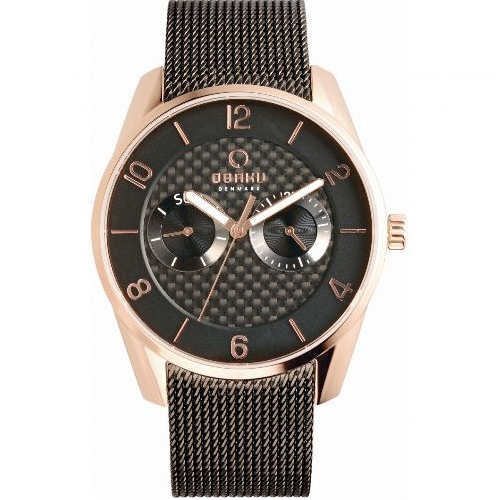 Obaku Analog Bracelet Men's Watch