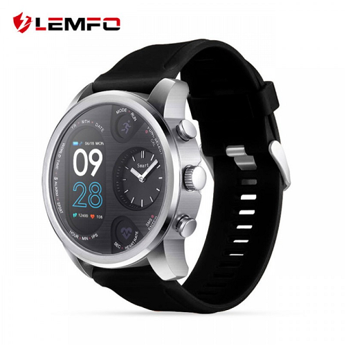 LEMFO T3 Dual Display Smart Watch IP68 Waterproof Fitness Bracelet