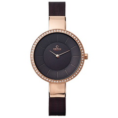 Mineral Crystal Glass Ladies Obaku Watch