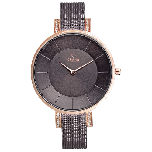 OBAKU Quartz Stainless Steel Ladies Dress Watch