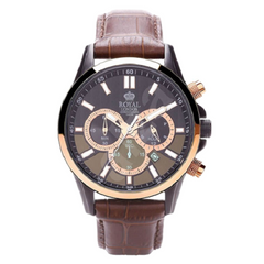 Royal London Gents Dress Brown Leather Chronograph Watch