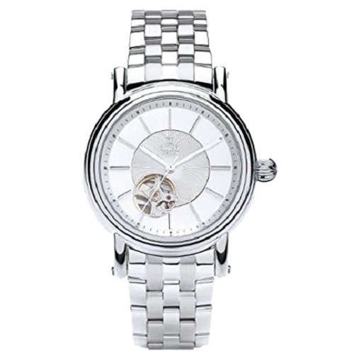 Royal London Silver Men's Automatic White Dial Watch