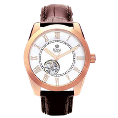 Royal London Men's Westminster Brown Automatic Watch