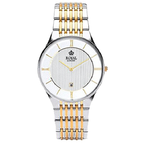 Royal London Men's Two Tone Steel Bracelet Classic Quartz Watch
