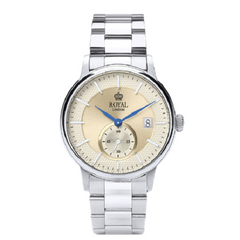 Royal London Men's Classic Date Window Stainless Steel Watch