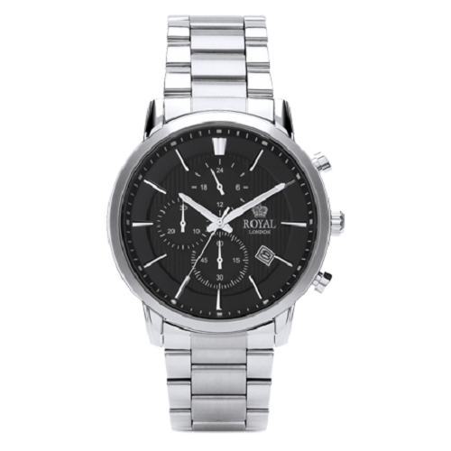 Royal London Gents Dress Stainless Steel Chronograph Watch