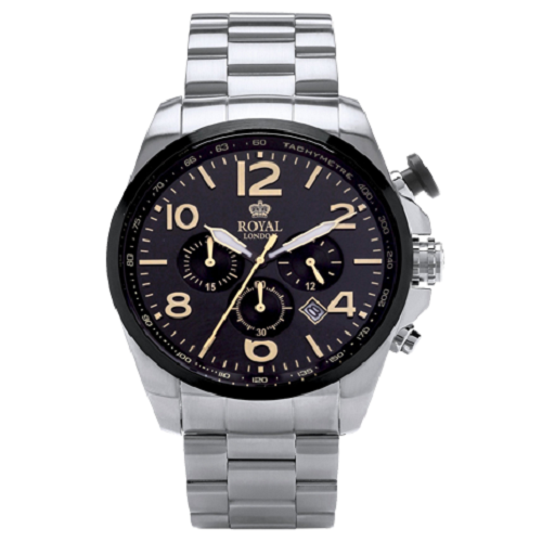 Royal London Chronograph Gents Stainless Steel Watch