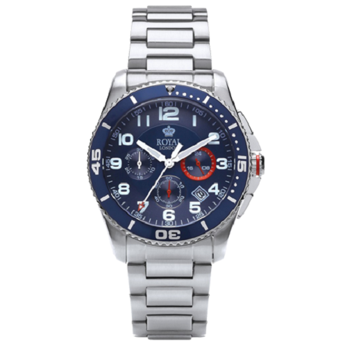 Royal London Chronograph Gents Sport Steel Watch