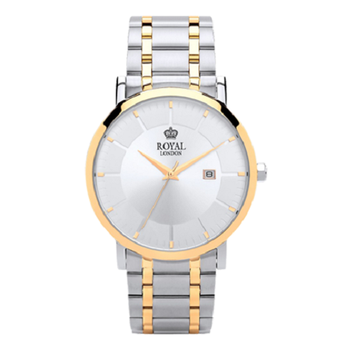 Royal London Classic Two Tone Stainless Steel Bracelet Watch