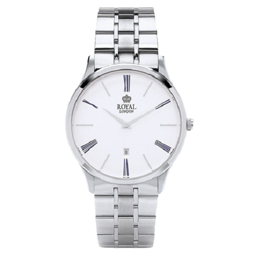 Royal London Silver Dial Analog Silver Strap Watch