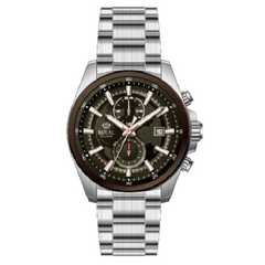 Royal London Men's Stainless Steel Silver Strap Watch