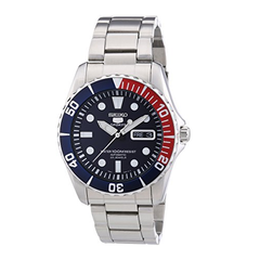 Diver's Analog Automatic Stainless Steel Seiko Men's Watch