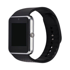 GT08 Smart watch (Silver) with GSM slot