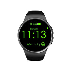 KingWear KW18 Smartwatch with Sim Slot Black & Brown