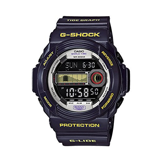 G-Shock G-Lide Classic Series Men's Stylish Watch Purple One Size