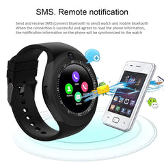 Y1s Smart Watch with GSM slot for iOS and Android