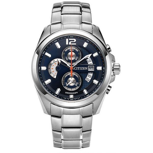 Blue Dial Citizen Analog Men's Watch