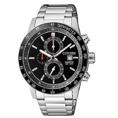 Citizen Chronograph Men's Silver Authentic Quartz Watch
