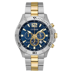 Citizen Men's Stainless Steel Golden Two Tone Watch