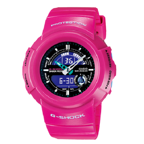Casio G-Shock Analog Pink Digital Men's Crazy Color Watch