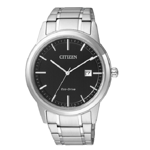 Citizen Men's Eco-Drive Stainless Steel Analog Black Dial Dress Watch
