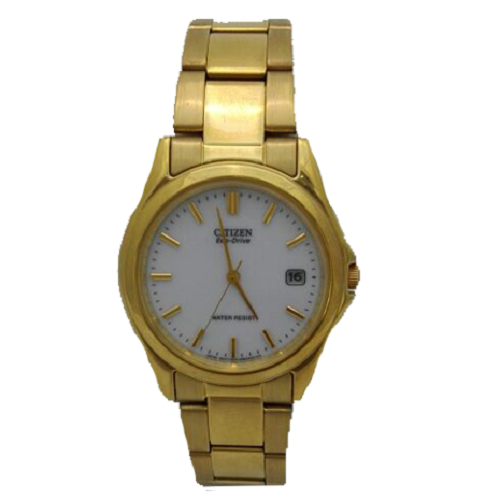 Citizen Quartz Gold Tone Stainless Steel Men's Watch